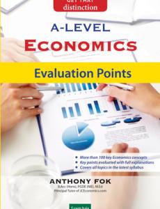 A-Level Economics Evaluation Points