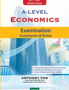 GCE 'A' Level Economics: Examination Summaries and Notes